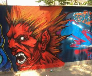 иранские граффити художники